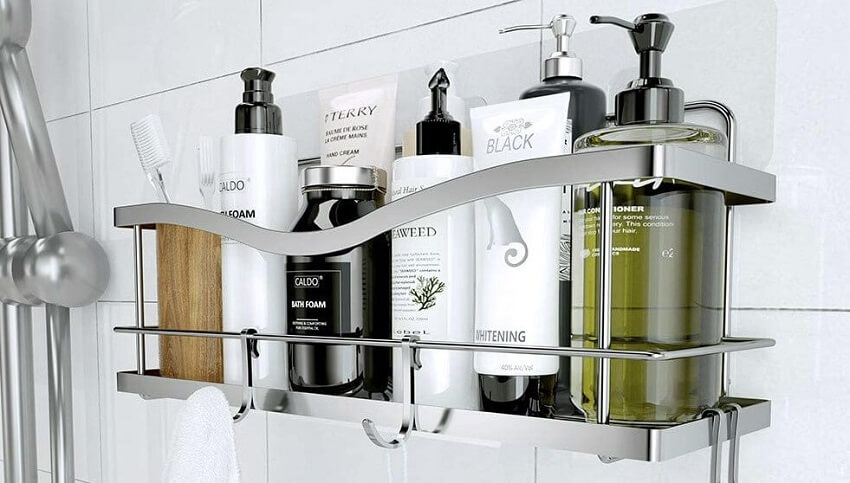 How to keep a shower caddy from falling   The Gadget Reviews